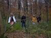 Group walk in Milton Woods