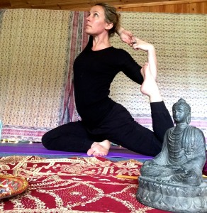 Mellulah Yoga with teacher Saira Francis
