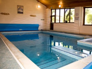 The pool is part of our Valentines Day offer