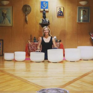 Crystal Bowl Sound Healing with Saira Francis