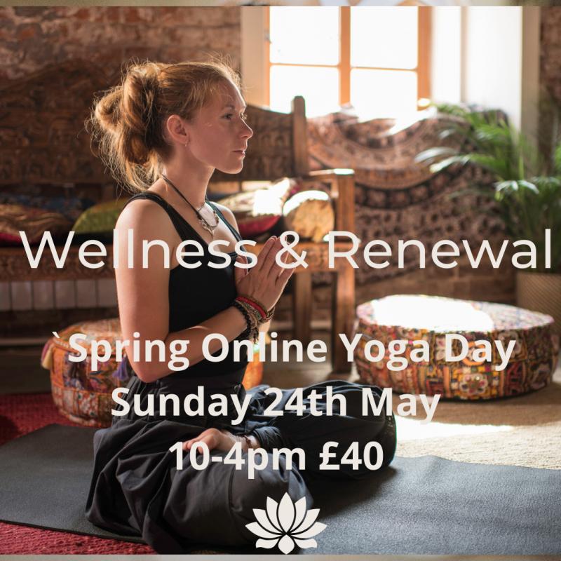 online yoga day retreat