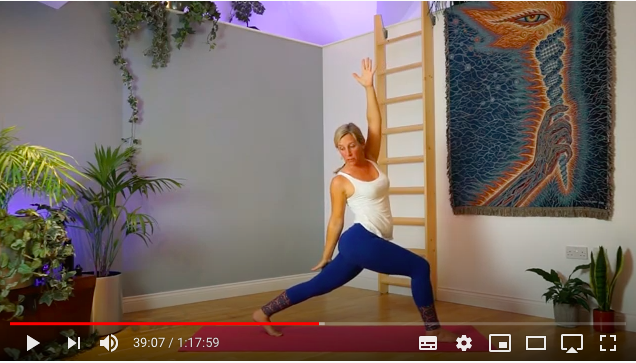 online yoga video